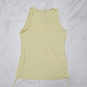 Yellow Lucy tank top